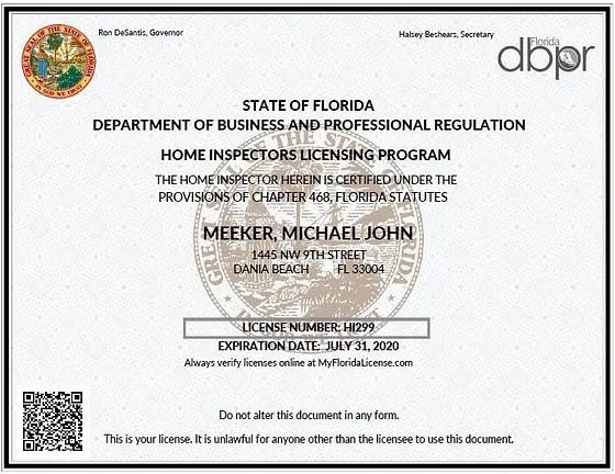 Licensed Florida General Contractor And Meekerindustries