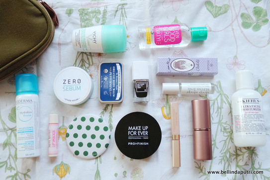 Image result for inside my makeup bag