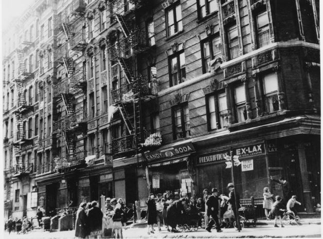 Tenements In The Lower East Side