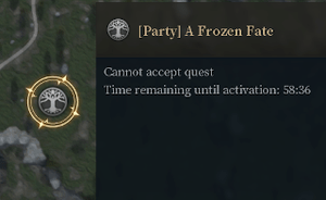 Timer before an invasion