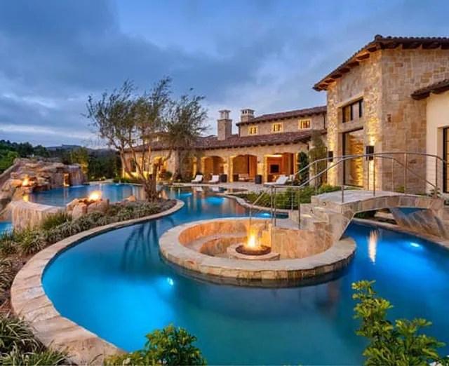 desert diamonds pool tile stone