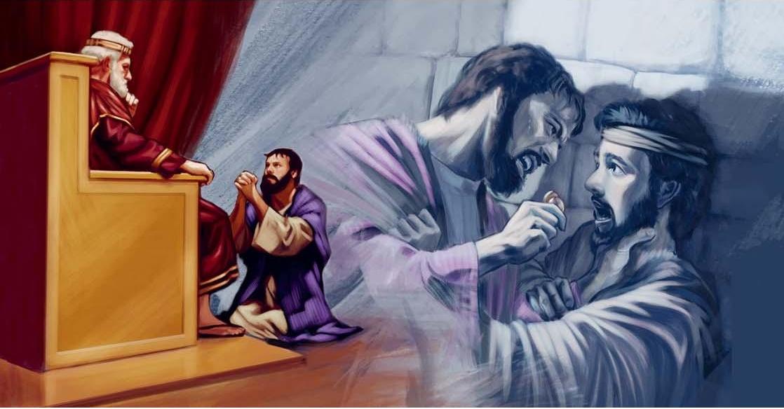 Resultado de imagen de Parábola del siervo despiadado