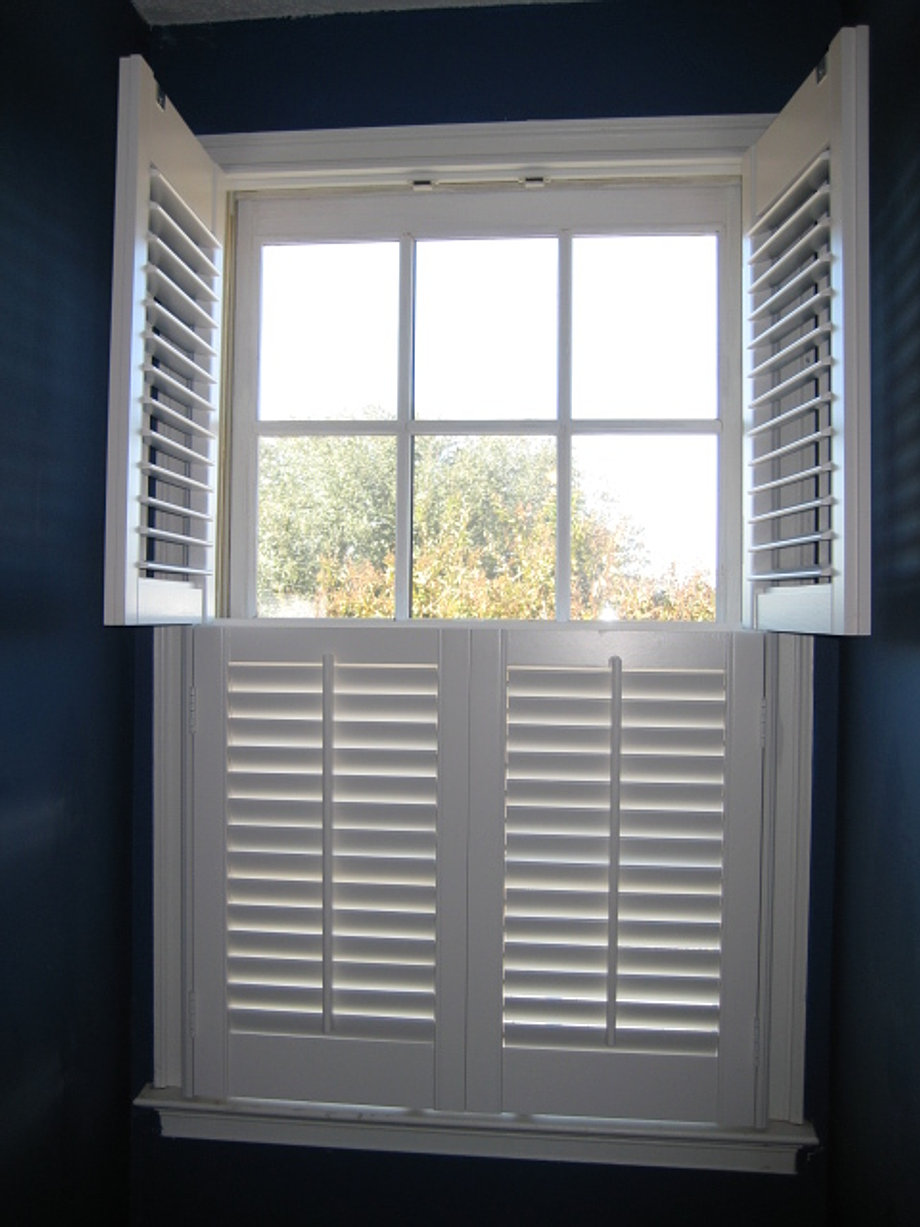 Suber Custom Shutters Installed These Traditional Looking