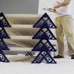 stak rack painting tool for door