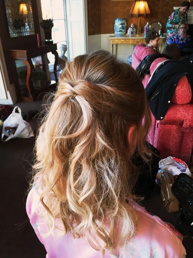 samantha kate / lincolnshire / bridal hair stylist and