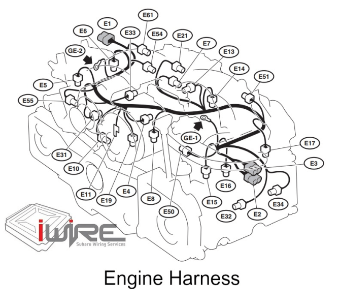 subaru engine wiring harness  wiring diagram wavecentrala