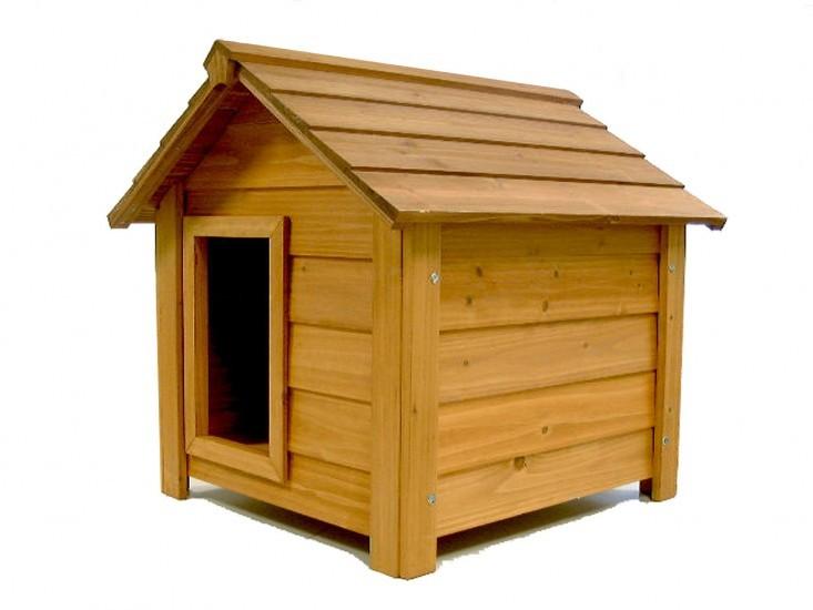 niches pour chien en bois resistantes