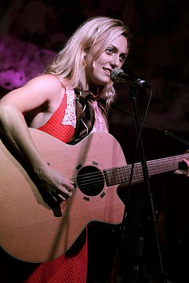 Little Sparrow at The Deaf Institute supporting Kyla La Grange, 02/10/12, Katie Ware, taken by Shay Rowan