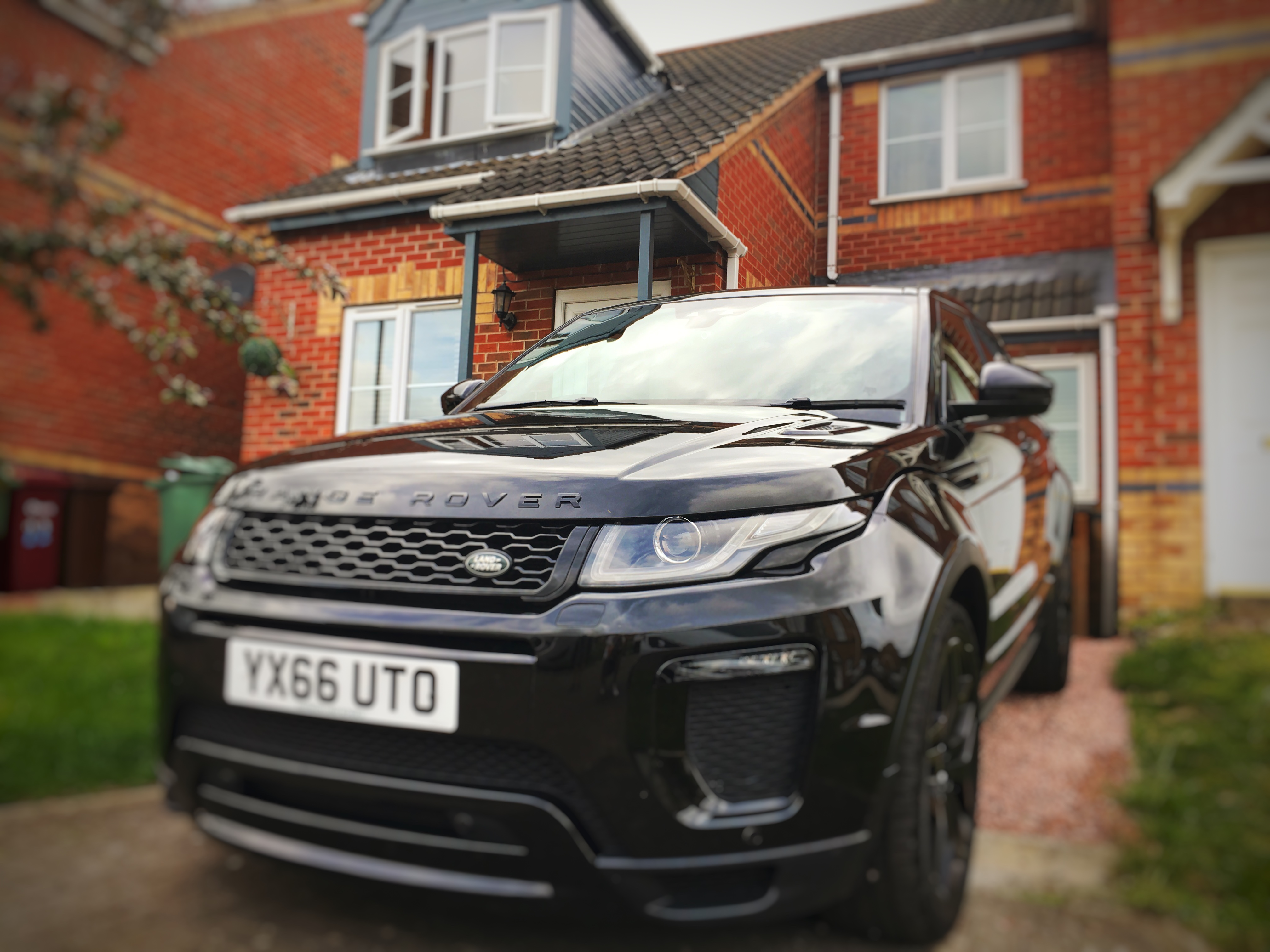 Range Rover Evoque Goluk T1 Dashcam install Lincolnshire