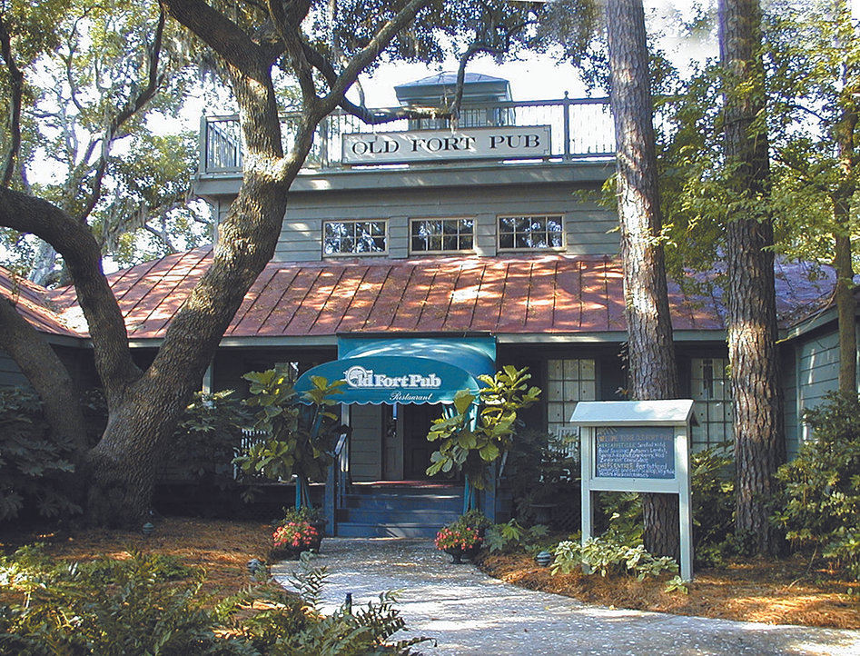 Hilton Head Restaurant Waterfront Old Fort Pub