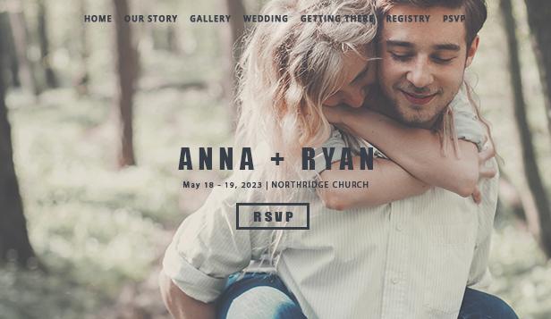 Weddings Celebrations Website Templates Events Wix