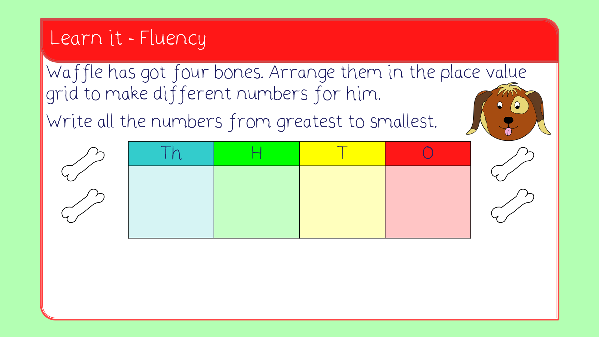 Order Numbers Lesson Pack Year 4 Number And Place Value