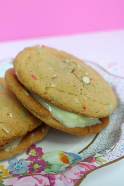 Funfetti Ice cream Cookies