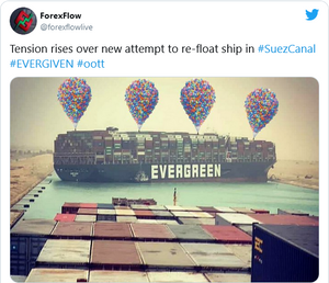 Suez Canal Balloons Meme