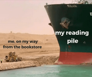 Suez Canal Bookstore Meme