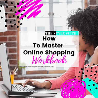 Workbook  How to Master online Shopping