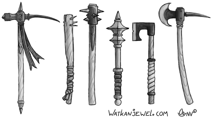 20 Magical Weapons That Aren T Swords At All