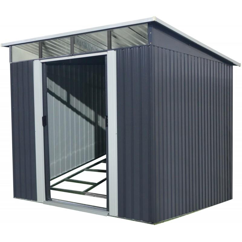 x metal abris de jardin en metal skylight