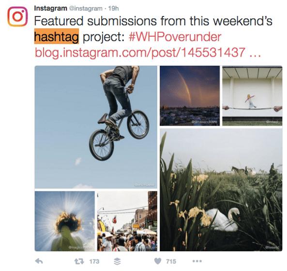 Instagram to improve SEO.