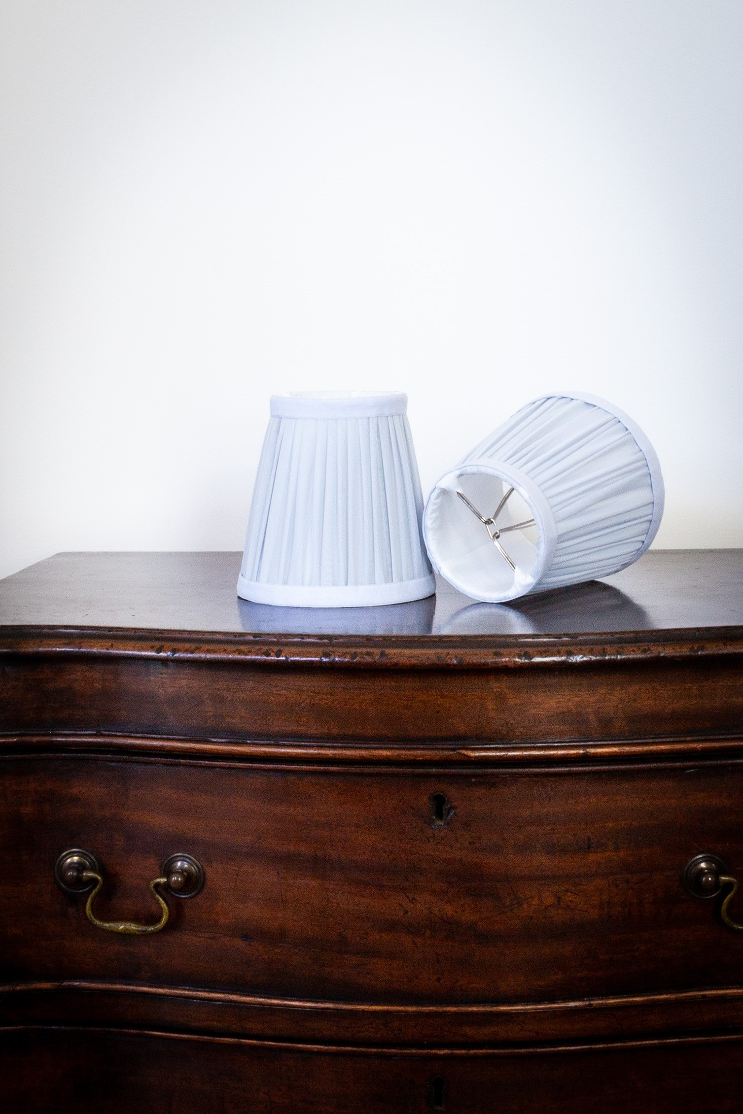 French Blue Lamp Shade