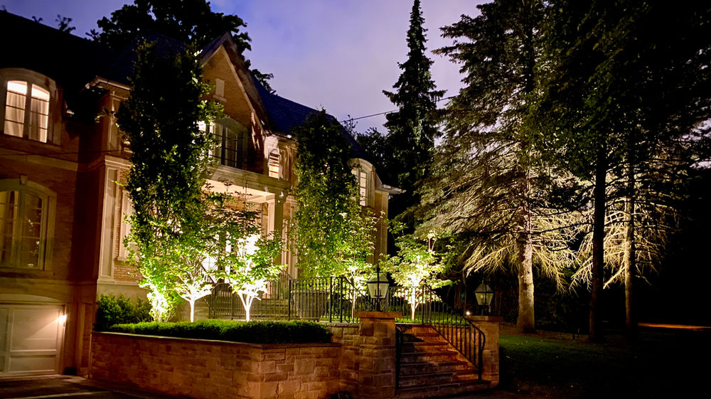designing a outdoor lighting system