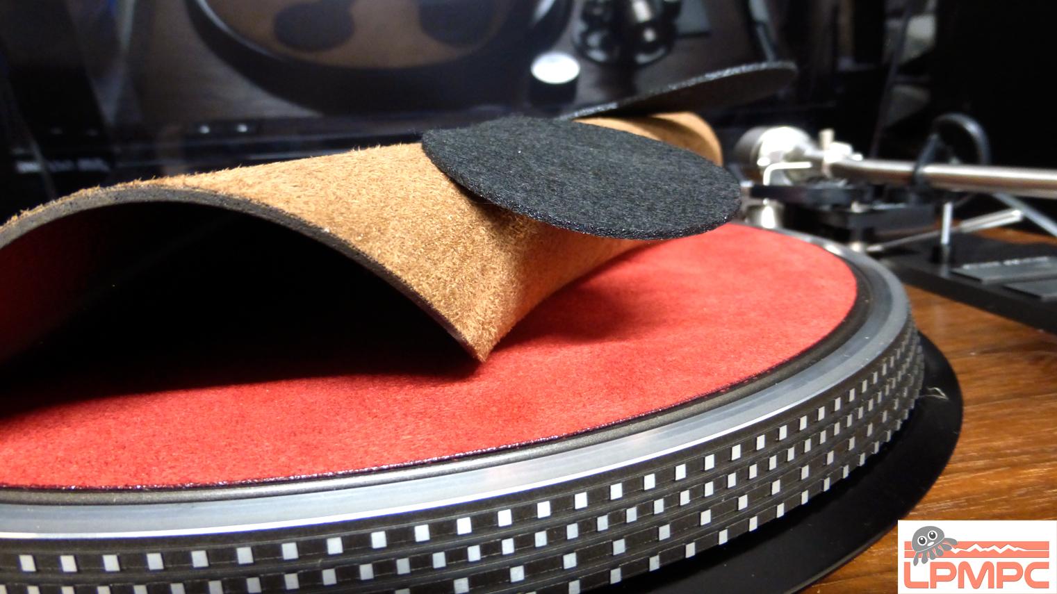 lpmpc tapis pour platine vinyle platter mat