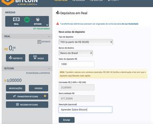 Mercado Bitcoin Depósito