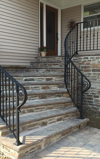 Pro Status Railings Railing Contractor In New Jersey Long Island | Long Island Custom Railings | Wrought Iron | Aluminum Railings | Staircase | Stairs | Porch