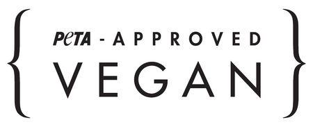 het logo van PETA-approved keurmerk
