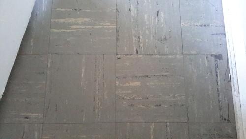 asbestos glues and vinyl floor tiles