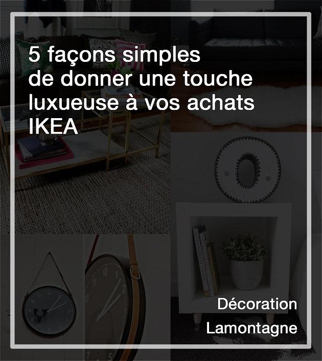 5 Façons Simples De Donner Une Touche Luxueuse à Vos Achats