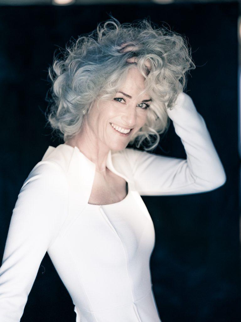 Silber Blond Haare