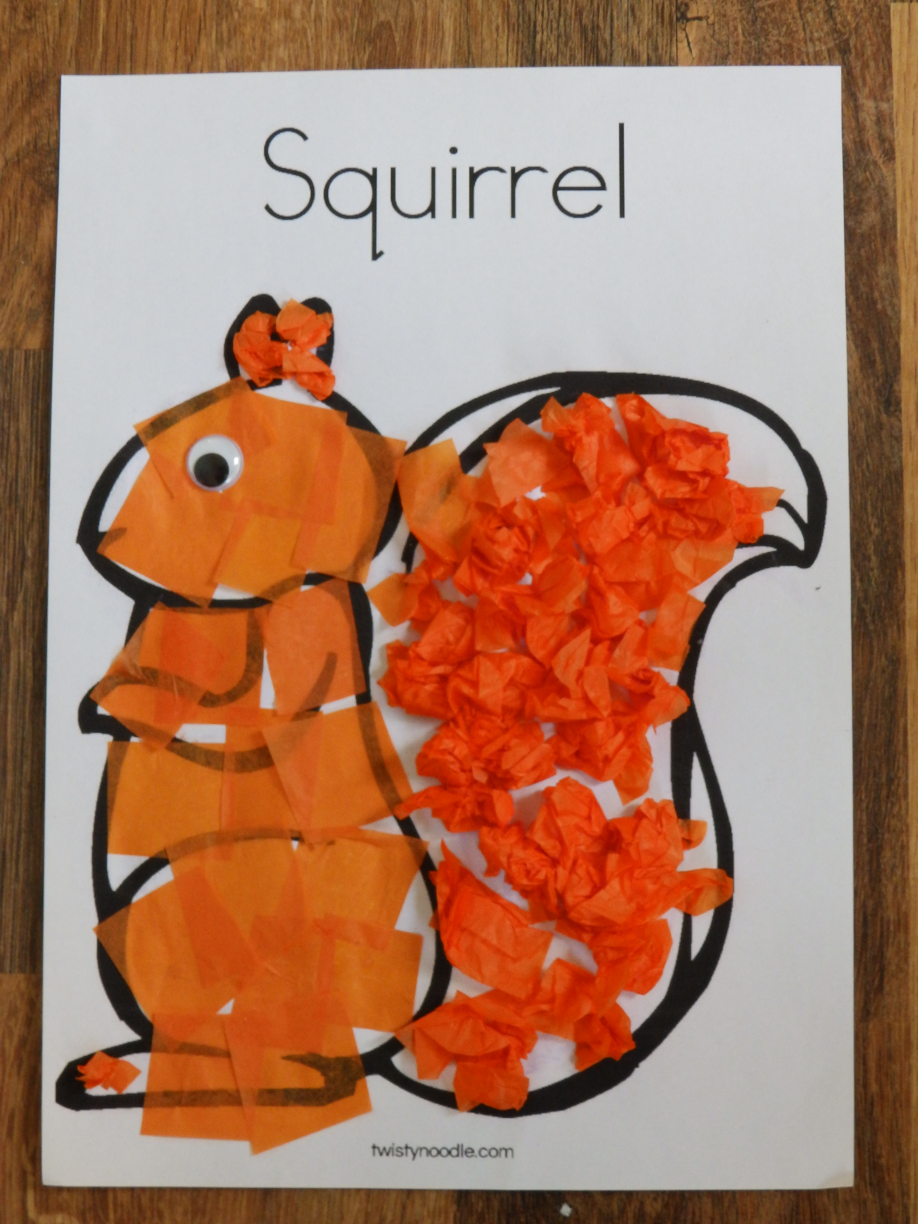 Two Squirrel Crafts