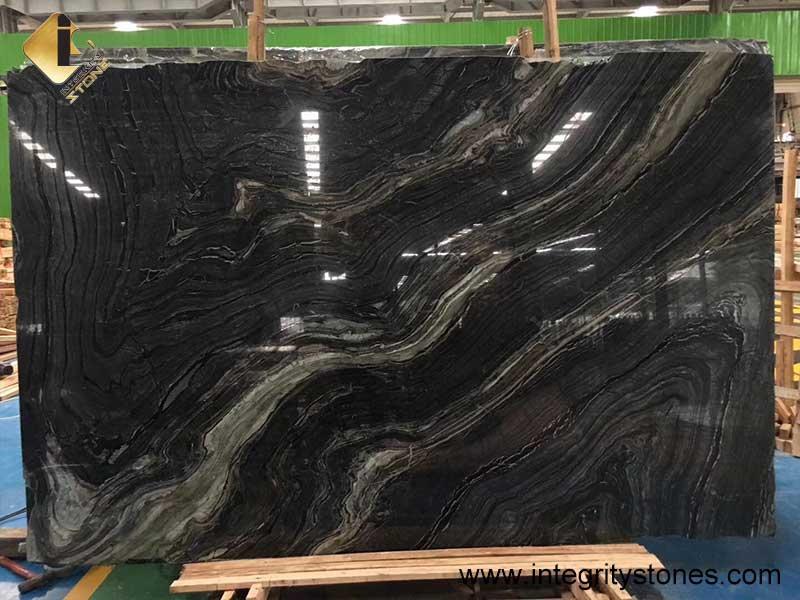 black wood marble