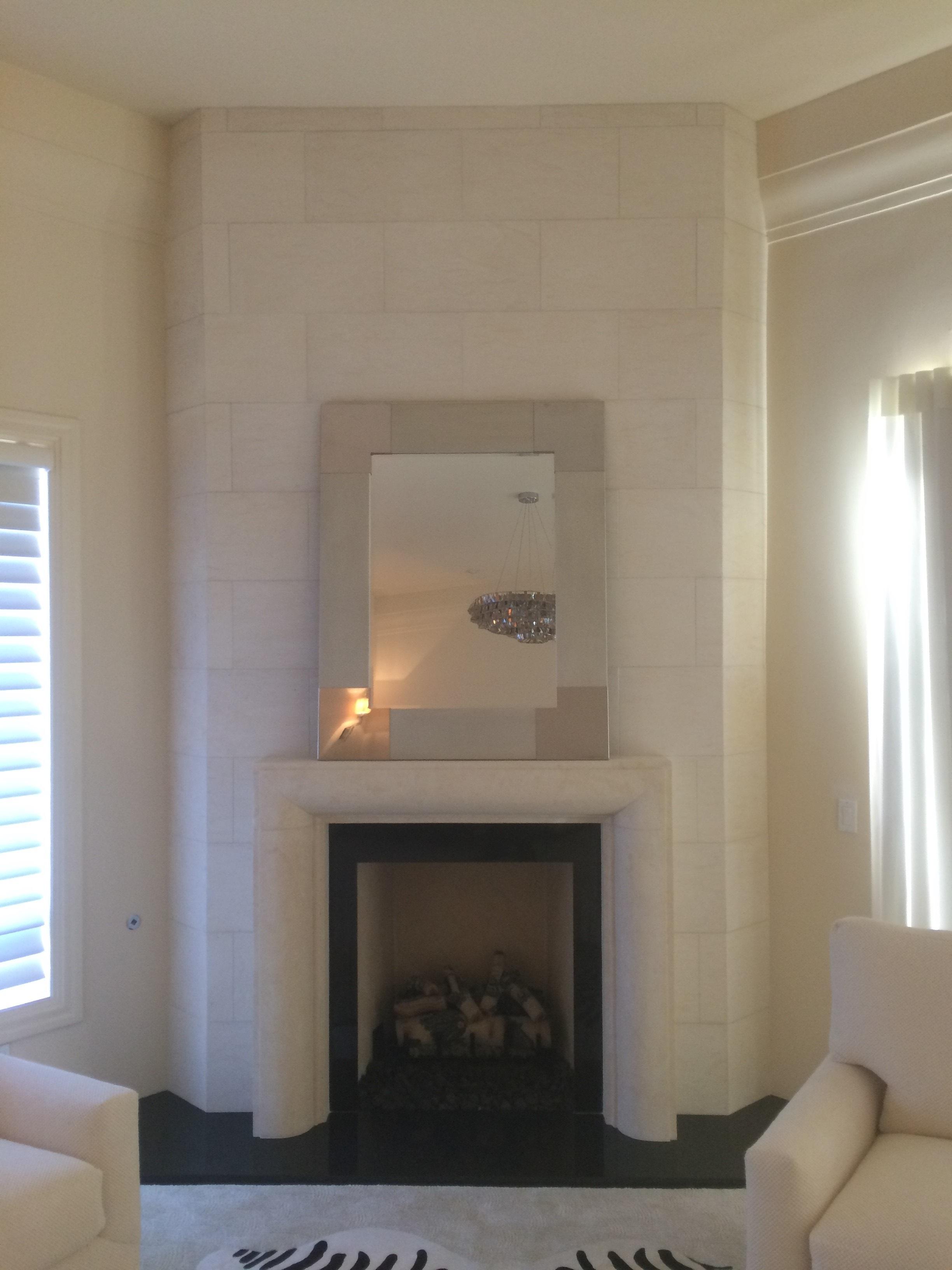 Modern Fireplace Mantels Surrounds