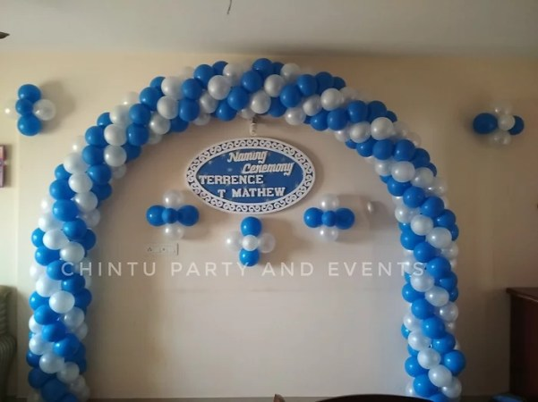 chintupartyandevents BALLOON DECORATION FOR HOME  4000RS