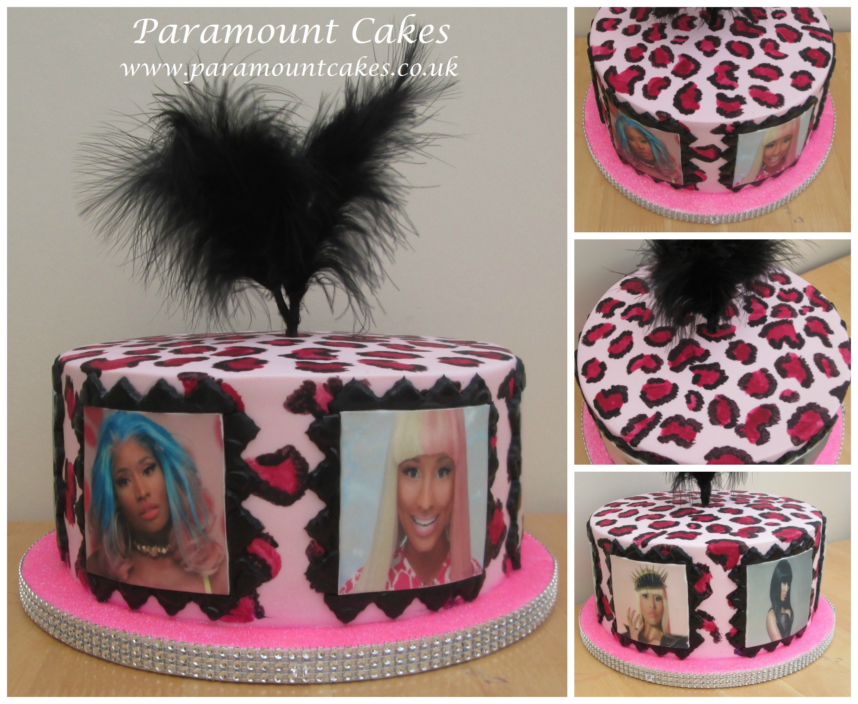 Pin Nicki Minaj 30th Birthday Cake Cake