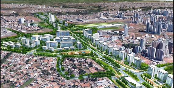Avenida Transbrasília promete beneficiar economicamente cidades como Águas Claras