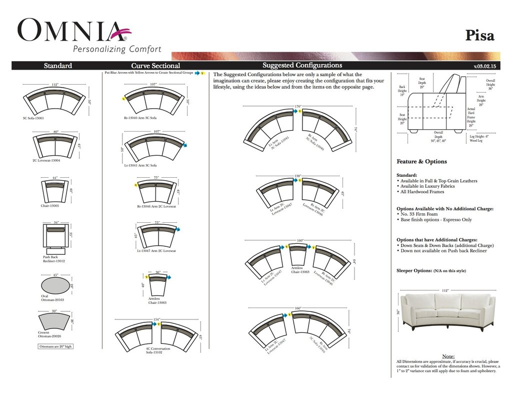 Pisa By Omnia Leather