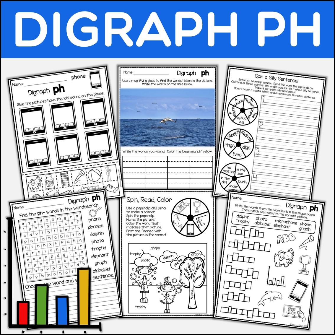 Phonics Phonics Digraph Ph