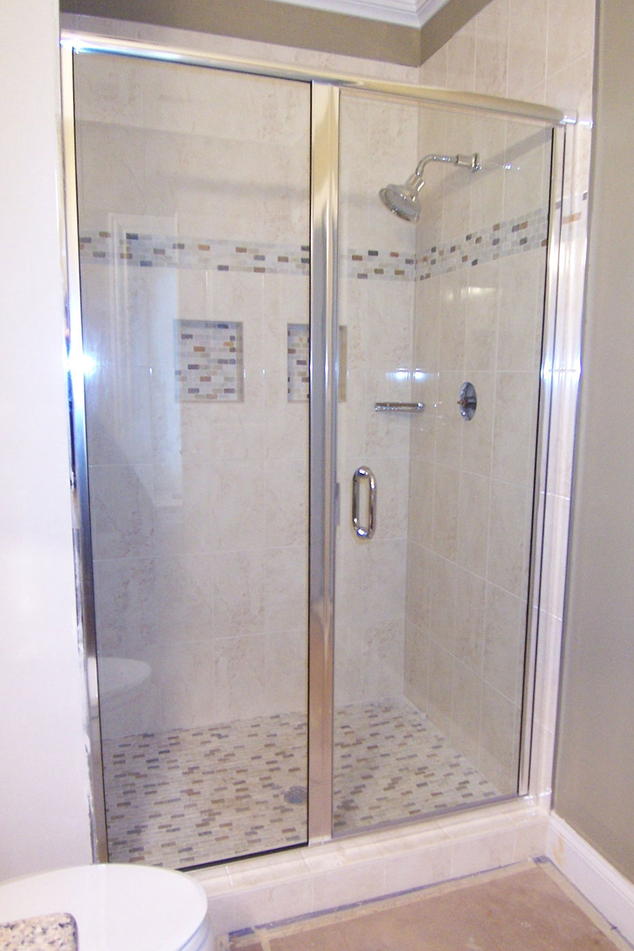 Framed Semi Frameless Shower Doors