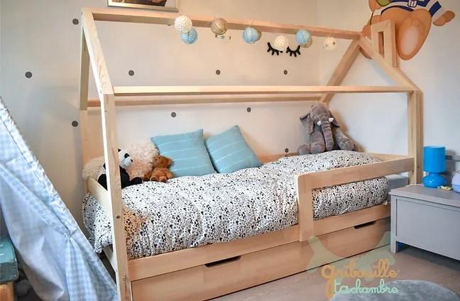 lit cabane pour enfant gribouille ta