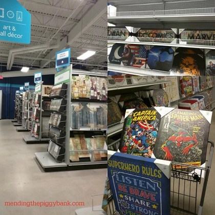 Tips and Tricks for Shopping at At Home The Home Decor Superstore     The aisles of just wall decor extended far beyond what was in my picture   This brings me to my first tip