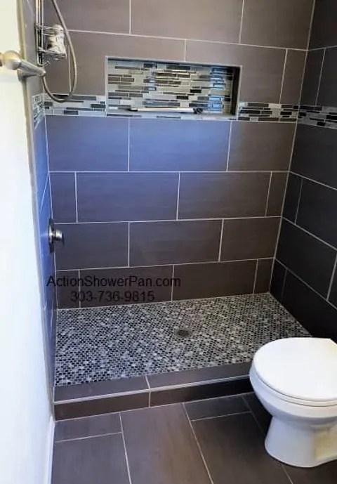 shower pan repair service denver co