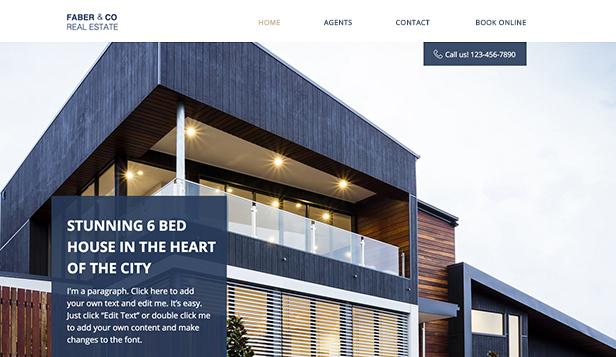 Real Estate Website Templates Business Wix Com