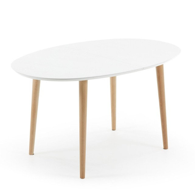 table ovale extensible oakland
