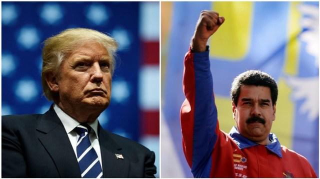 Trump quiere cambios en Venezuela