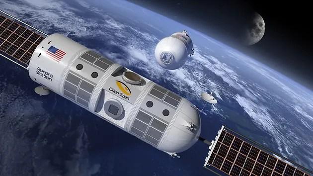 Estación Espacial Aurora de Orion Span