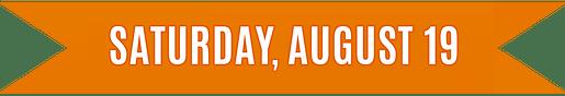 Saturday, August 19