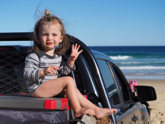 Primus Fridge doubles as a seat when camping near Sydney